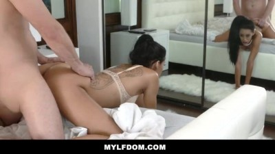 Sexy Tan MILF Gets Dominated and Fucked