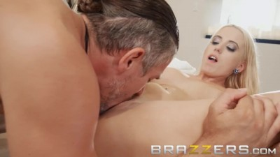 Young Blonde Aspen Romanoff Loves Big Cock