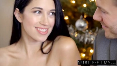 Best Girlfriend ever Gifts me her Friend to Fuck for Christmas 3some