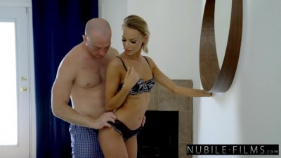 Naughty Blonde Dicked down by her Sister's Man