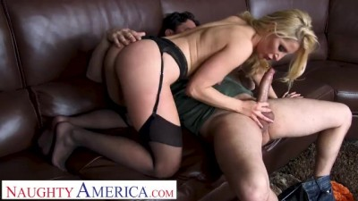Ashley Fires has her Boy Toy Creampie her while her Husband