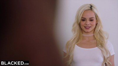 Elsa Jean cant keep her Hands off BBC