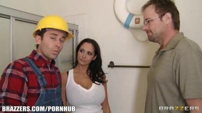 Slutty Latina Wife Ava Addams Fucks her Home Contractor
