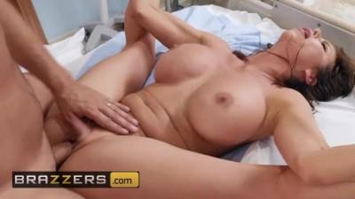 Hot MILF Nurse Alexis Fawx Fucks the Pain away