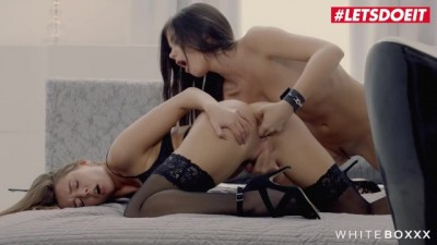 Caprice and Sybil Czech Babe Erotic Lesbian Fantasy