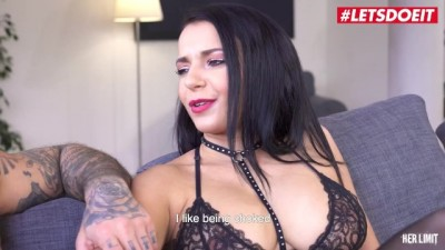 Sophia Laure Big Tits French Brunette Takes a Big Dick