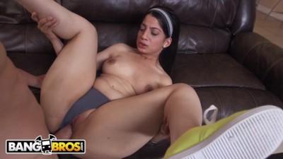 Curvy Latin Maid Nadia Ali Givin' up Dat Azz for Jmac