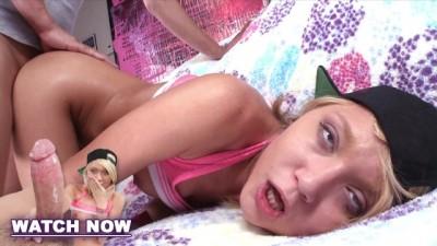 Dakota Skye Spreads her Big Ass Cheeks for Cock