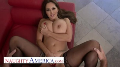 Ava Addams comes Home with new Lingerie
