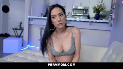 POV Quickie with Stepmom on Counter - Bravoporn