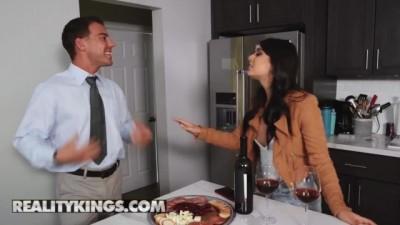 Sneaky Latina Gina Valentina Cucks her Husband