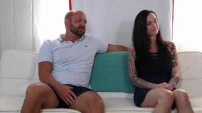 3some Spitroast Blowjob Deepthroat Doggystyle Creampie