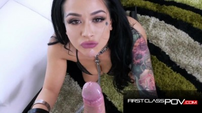 Super Hot Tattooed Slut Katrina Jade Amazing Wet POV
