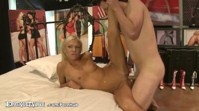 Blonde Babe Katerina Kay Plowed by ERIC JOHN