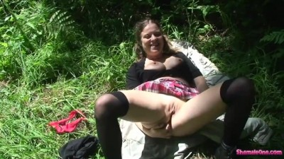 Trying Anal Sex with my Teenager Stepbrother in the Woods