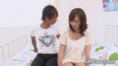 Adorable Miku Fujii has her Tight Pussy Pounded