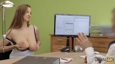 Sex Casting Helps Hottie get Credit to Fix Spouses Vehicle