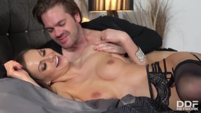 Insatiable Latina Bombshell Tina Kay can't Stop Cumming in Doggy Style