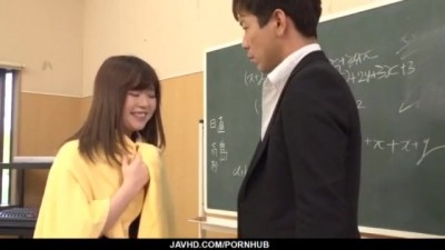 Kaho seems willing to have Sex with her Teacher