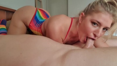 Kate Gets a Mouth for of Cum