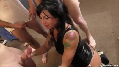 Gina Jameson Gets a Load of Jizz