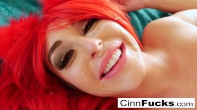 Christiana Cinn's PussyChu Takes it Balls Deep in her Ass!