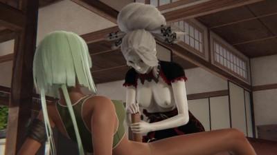 RWBY - Emerald x Salem