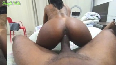 Teen Native Brazilian Jungle Girl 18 Tattooed and Tan Lines Loves Sucking