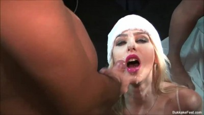 Pixiee little taking Mammoth Load of Cum in her Face