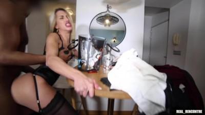 French Nympho Megane Lopez Cheats on her Boyfriend