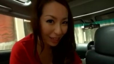 Cock Hungry Mature Aoi Aoyama Sucks Cock in a Car