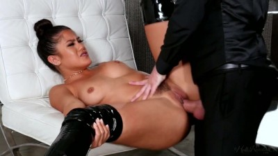 Kendra Spade's Master Teaches her Discipline with his Big Dick