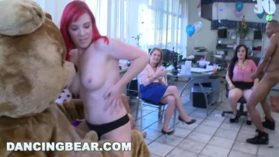 This Girls 30th Birthday Party goes Crazy when the Bear Show