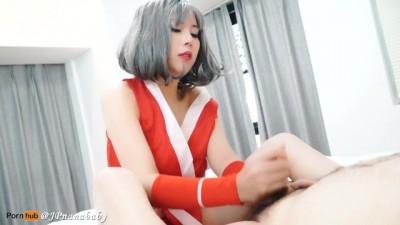 Mai Shiranui Handjob for CHANG KOEHAN