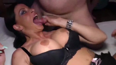Busty Moms first Anal Group Orgy