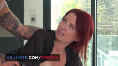 Redhead Big Boobs MILF Takes all in the Ass