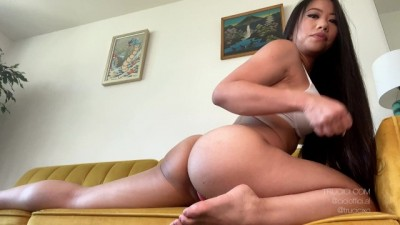 Only Fans and Instagram Star Trucici does JOI and Ass Worship