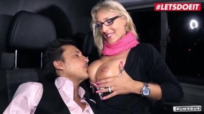 Lana Vegas Mature German Blonde Spreads her Legs for Stranger's Big Dick
