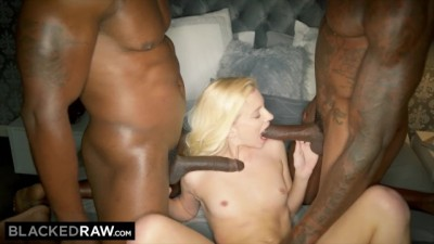 Out Of Town Teen Gets Picked Up By Two Strong Black Men