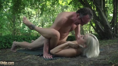 Young Swallows old Man Cum