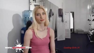 Amateur Silke Casting for Hardcore Gangbang