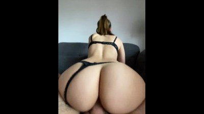 Curvy Teen Riding Hard and Doggystyle