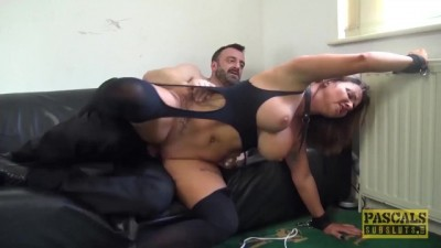 UK MILF Sienna Hudson Rough Fucks Master