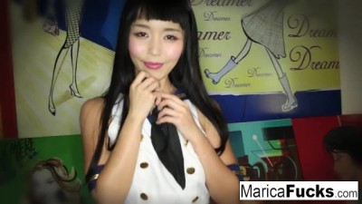Marica Hase Strips off her Costume and Plays with Herself!