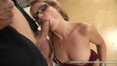 Cougar Hotwife Calls a Gigolo to Fuck her Married Cunt and Asshole