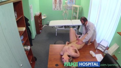 Horny MILF Swallows a Load of the Good Doctors Cum