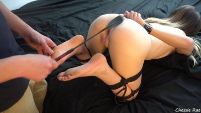 Busty Babe Tied up and Fucked has Multiple Orgasms
