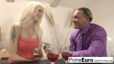 Blonde Stacy Silver Takes an Anal Dicking