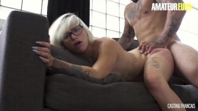Big Ass Canadian Blonde Takes Huge Cock in first Audition Fuck