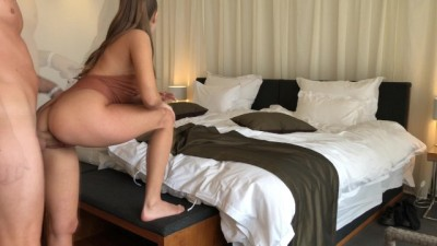 ESCORT GORGEOUS GIRL FUCK IN ASS AT HOTEL ROOM